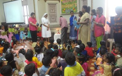 Parent's Day Celebration in the Garden School