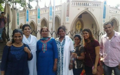A Staff visit to the mount Mary, Bandra