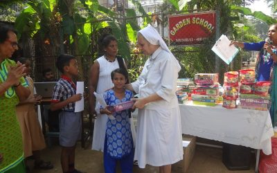 Sponsored Children's Day at Garden School for 60 Students from 9 different Schools