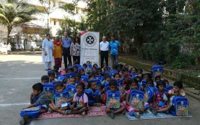 St. John's Ambulance NGO had a Christmas party with all the three schools