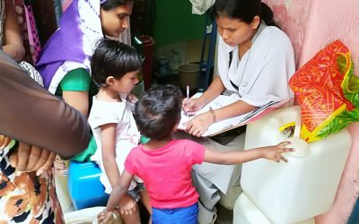 Home visit to Geetanagar,Garden school and Reay Road by Sr. Asha Gaikwad rjm