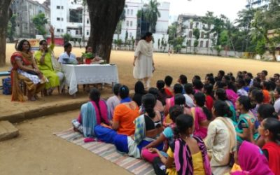 Informative lecture for young girls and woman.